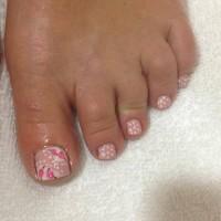 nail art feet